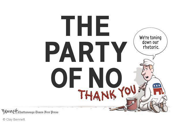 Clay Bennett  Clay Bennett's Editorial Cartoons 2011-01-18 thank