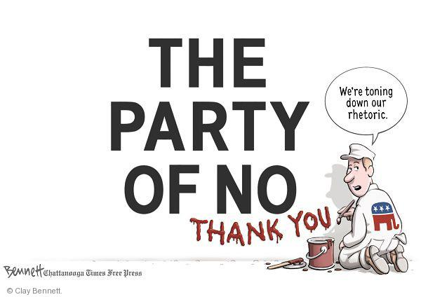 Clay Bennett  Clay Bennett's Editorial Cartoons 2011-01-18 against