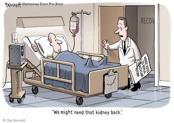 Cartoonist Clay Bennett  Clay Bennett's Editorial Cartoons 2011-01-20 congress health care