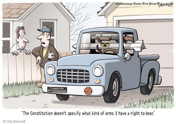 Cartoonist Clay Bennett  Clay Bennett's Editorial Cartoons 2011-01-21 owner