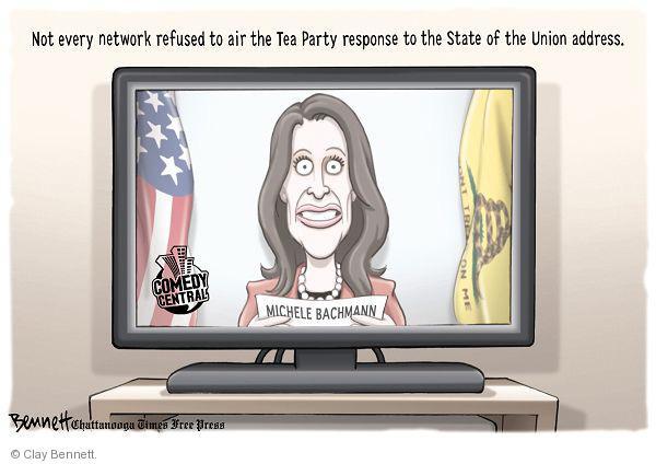 Cartoonist Clay Bennett  Clay Bennett's Editorial Cartoons 2011-01-26 response