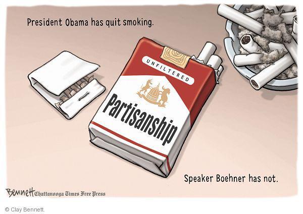 Cartoonist Clay Bennett  Clay Bennett's Editorial Cartoons 2011-02-10 John Boehner