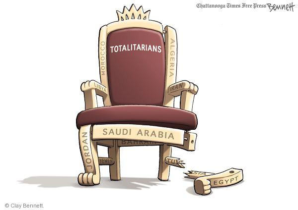 Cartoonist Clay Bennett  Clay Bennett's Editorial Cartoons 2011-02-15 Iran