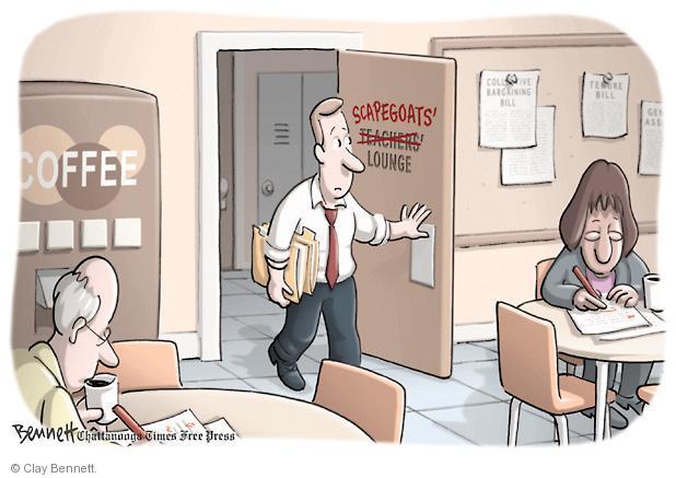 Cartoonist Clay Bennett  Clay Bennett's Editorial Cartoons 2011-03-04 state
