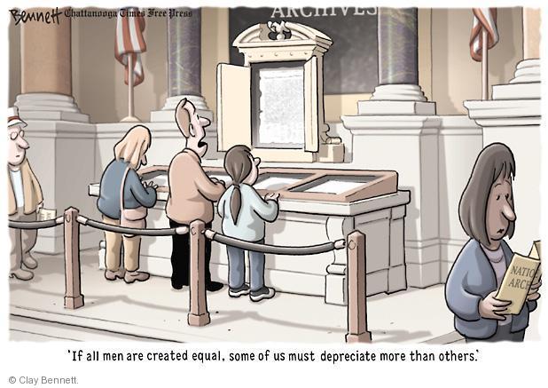 Cartoonist Clay Bennett  Clay Bennett's Editorial Cartoons 2011-03-05 American History