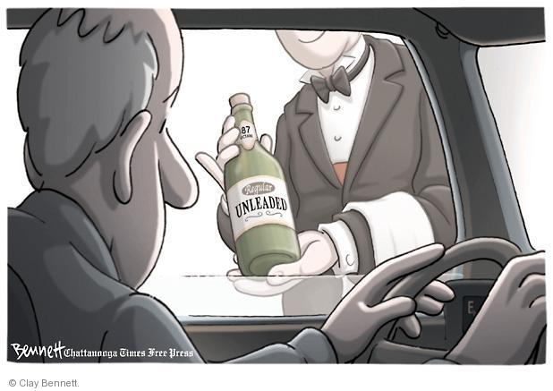 Clay Bennett  Clay Bennett's Editorial Cartoons 2011-03-08 cost