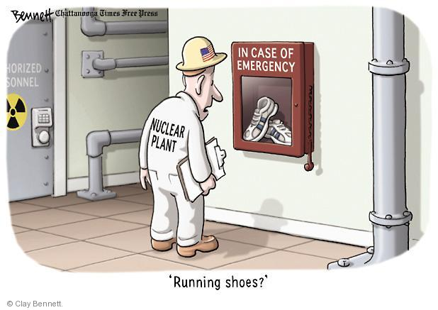 Cartoonist Clay Bennett  Clay Bennett's Editorial Cartoons 2011-03-16 nuclear power
