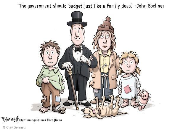 Cartoonist Clay Bennett  Clay Bennett's Editorial Cartoons 2011-04-01 John Boehner