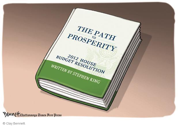 Clay Bennett  Clay Bennett's Editorial Cartoons 2011-04-06 federal budget
