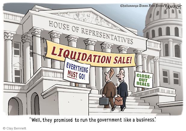 Clay Bennett  Clay Bennett's Editorial Cartoons 2011-04-27 federal budget