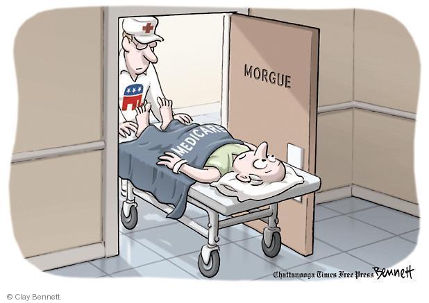 Clay Bennett  Clay Bennett's Editorial Cartoons 2011-05-13 federal budget