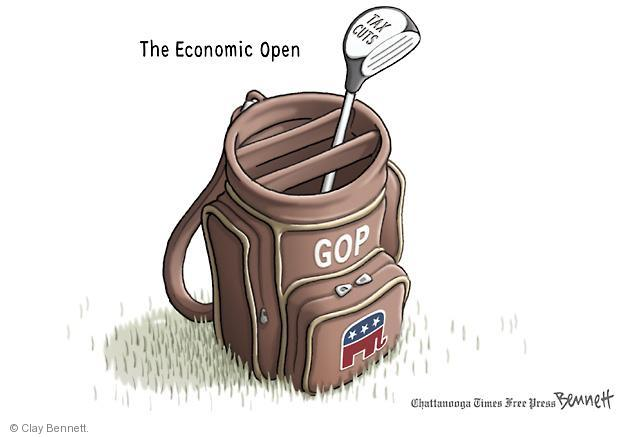 Cartoonist Clay Bennett  Clay Bennett's Editorial Cartoons 2011-06-18 economic policy