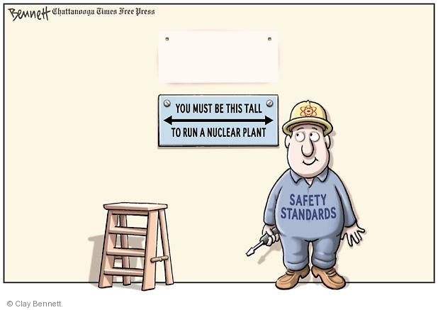 Cartoonist Clay Bennett  Clay Bennett's Editorial Cartoons 2011-06-21 nuclear power