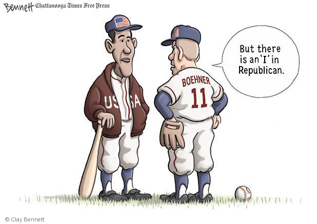 Cartoonist Clay Bennett  Clay Bennett's Editorial Cartoons 2011-06-30 John Boehner