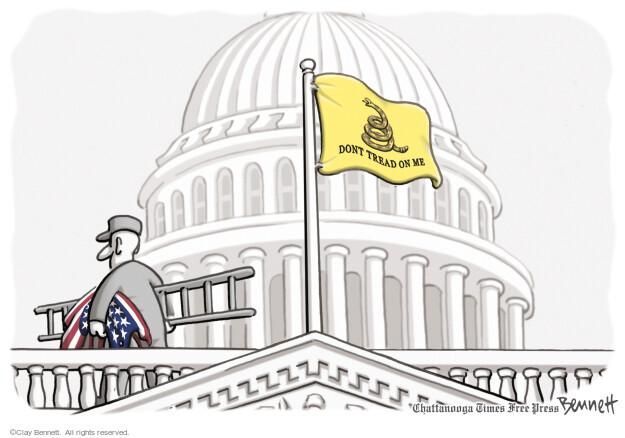 Cartoonist Clay Bennett  Clay Bennett's Editorial Cartoons 2011-07-28 capitol