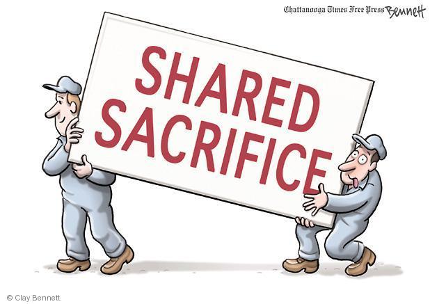 Clay Bennett  Clay Bennett's Editorial Cartoons 2011-08-03 federal budget