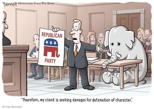 Cartoonist Clay Bennett  Clay Bennett's Editorial Cartoons 2011-08-12 lawyer
