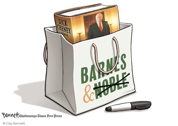Cartoonist Clay Bennett  Clay Bennett's Editorial Cartoons 2011-09-01 book bag