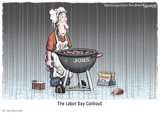 Clay Bennett  Clay Bennett's Editorial Cartoons 2011-09-02 labor