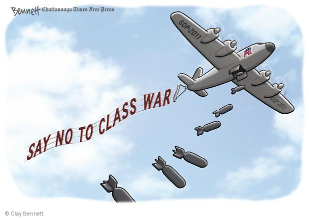 Clay Bennett  Clay Bennett's Editorial Cartoons 2011-09-20 poor