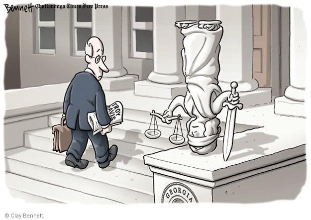 Cartoonist Clay Bennett  Clay Bennett's Editorial Cartoons 2011-09-21 state