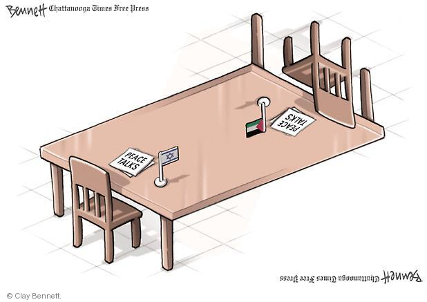 Clay Bennett  Clay Bennett's Editorial Cartoons 2011-09-25 Israel