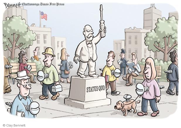 Cartoonist Clay Bennett  Clay Bennett's Editorial Cartoons 2011-10-07 hold