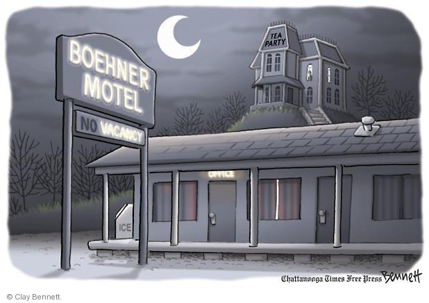 Cartoonist Clay Bennett  Clay Bennett's Editorial Cartoons 2011-10-30 vacancy