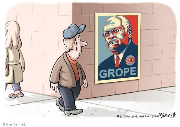 Clay Bennett  Clay Bennett's Editorial Cartoons 2011-11-01 2008 primary