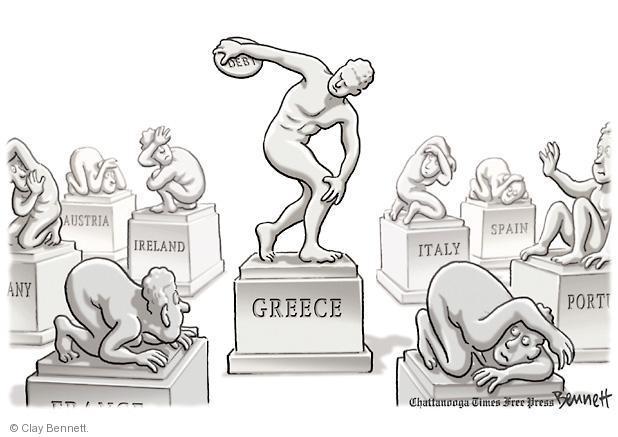Cartoonist Clay Bennett  Clay Bennett's Editorial Cartoons 2011-11-04 Europe