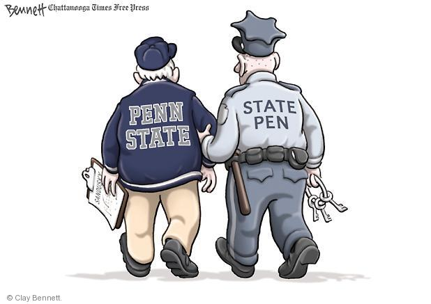 Cartoonist Clay Bennett  Clay Bennett's Editorial Cartoons 2011-11-11 Pennsylvania