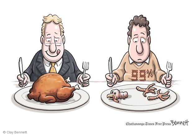 Clay Bennett  Clay Bennett's Editorial Cartoons 2011-11-23 street