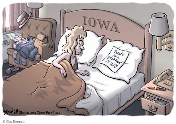 Clay Bennett  Clay Bennett's Editorial Cartoons 2012-01-04 call
