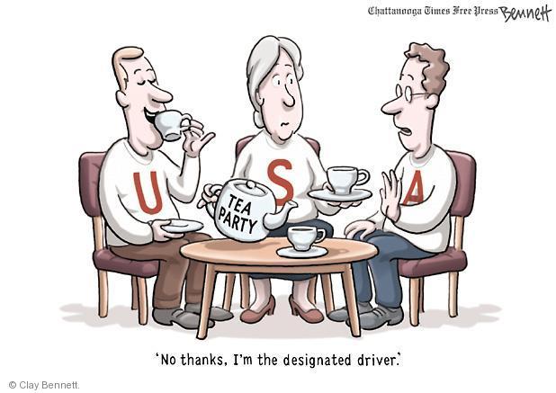 Clay Bennett  Clay Bennett's Editorial Cartoons 2012-01-17 driver