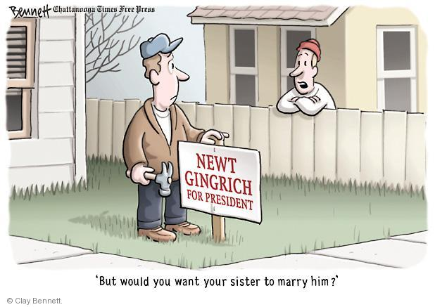 Clay Bennett  Clay Bennett's Editorial Cartoons 2012-01-23 but