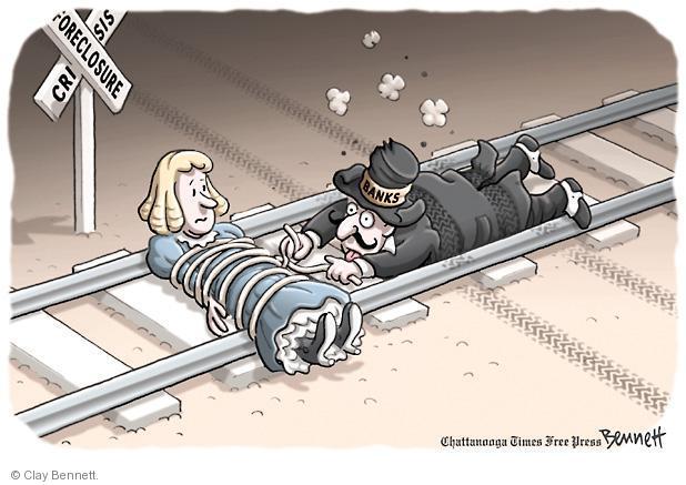 Cartoonist Clay Bennett  Clay Bennett's Editorial Cartoons 2012-02-12 finance
