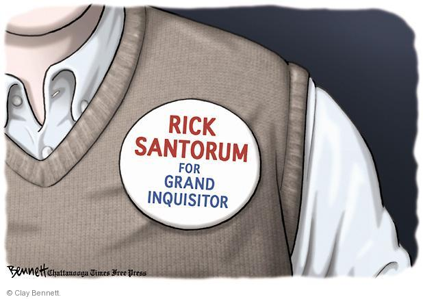 Clay Bennett  Clay Bennett's Editorial Cartoons 2012-02-21 presidential election
