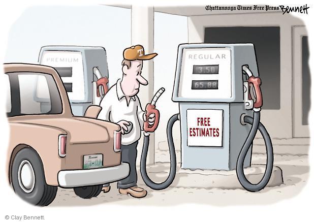 Clay Bennett  Clay Bennett's Editorial Cartoons 2012-02-22 cost