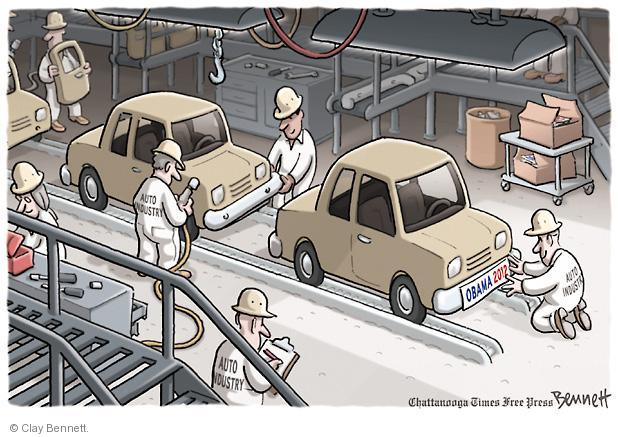 Clay Bennett  Clay Bennett's Editorial Cartoons 2012-03-01 labor
