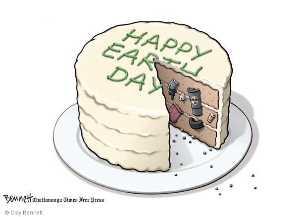 Clay Bennett  Clay Bennett's Editorial Cartoons 2012-04-20 environment