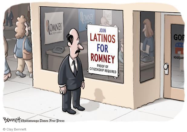 Clay Bennett  Clay Bennett's Editorial Cartoons 2012-04-24 presidential election