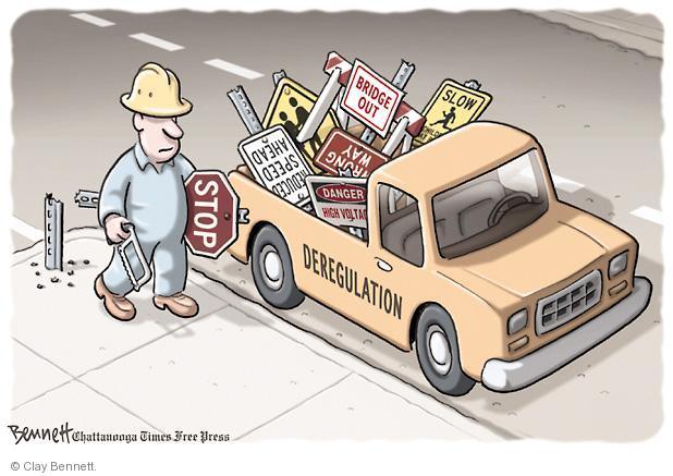 Clay Bennett  Clay Bennett's Editorial Cartoons 2012-05-16 regulate