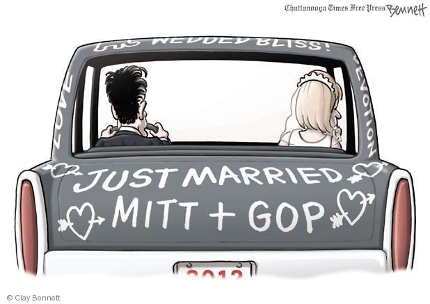 Clay Bennett  Clay Bennett's Editorial Cartoons 2012-05-31 presidential election