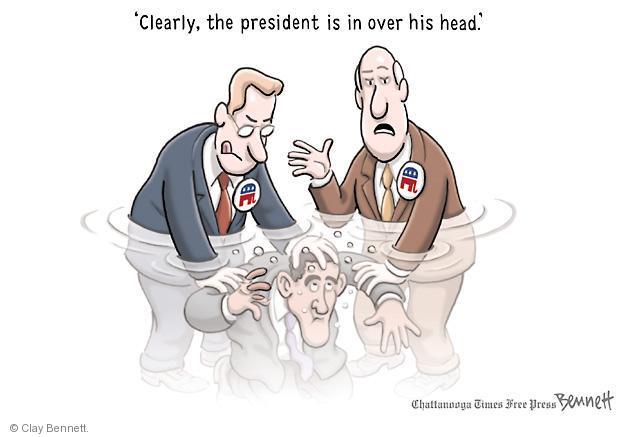 Cartoonist Clay Bennett  Clay Bennett's Editorial Cartoons 2012-06-06 head