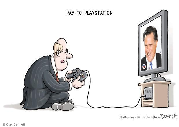 Cartoonist Clay Bennett  Clay Bennett's Editorial Cartoons 2012-06-25 campaign finance