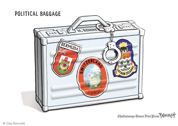 Clay Bennett  Clay Bennett's Editorial Cartoons 2012-07-10 presidential election