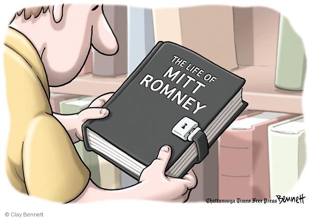 Cartoonist Clay Bennett  Clay Bennett's Editorial Cartoons 2012-07-17 book