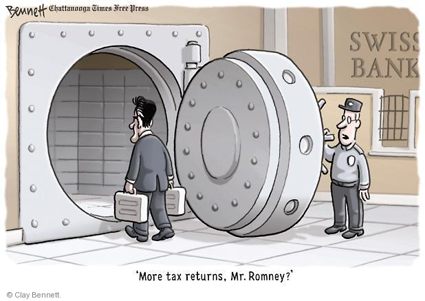Clay Bennett  Clay Bennett's Editorial Cartoons 2012-08-09 presidential election