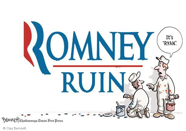 Clay Bennett  Clay Bennett's Editorial Cartoons 2012-08-15 presidential election