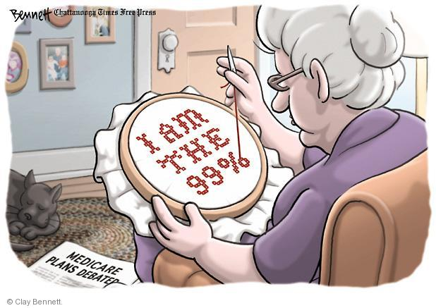 Clay Bennett  Clay Bennett's Editorial Cartoons 2012-08-17 federal budget
